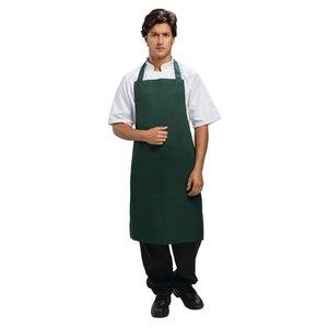WHITES CHEFS CLOTHING  Schort groen polyester/katoen