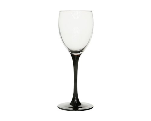 ARCOROC  Water Glass on black foot 36 cl Domino