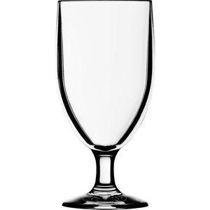 STRAHL All purpose glass footed 30 cl polycarbonate