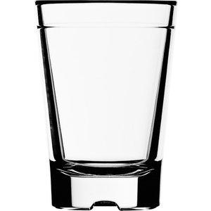 STRAHL Shot glas 5 cl polycarbonaat  met maatstreepje