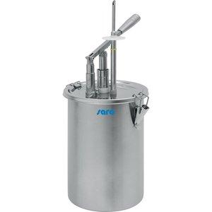 SARO  Patisserie vulsysteem 4,5 liter
