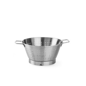 M & T  Colander footed in stainless steel 36,5 cm diameter