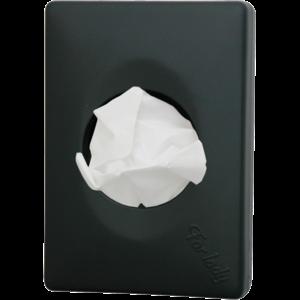 M & T  Houder voor hygienezakjes ABS  zwart matte uitvoering