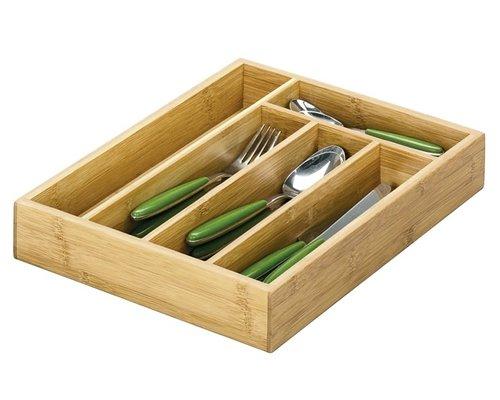 M & T  Bestekbak bamboe hout
