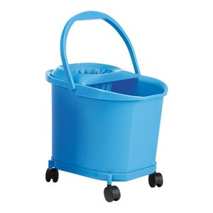 M & T  Mop bucket 16 liter on wheels