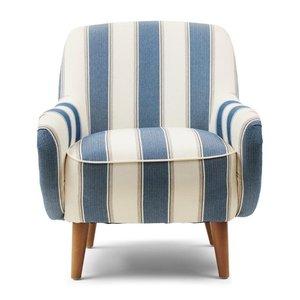 RIVIERA MAISON  Harper Archair Blue Stripe