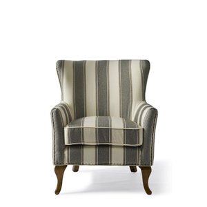 RIVIERA MAISON  Cavendish armchair Grey Stripe