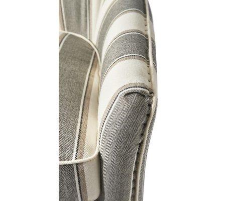 RIVIERA MAISON  Cavendish armchair Grey Stripe