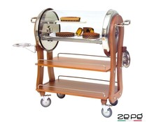 Zepé Dessert trolley roll top