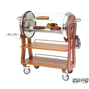 ZEPé Chariot à dessert roll top