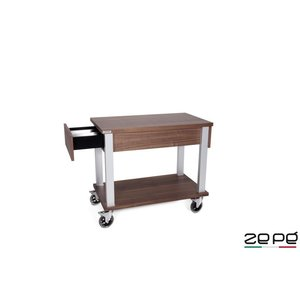 ZEPé Serving trolley with drawer