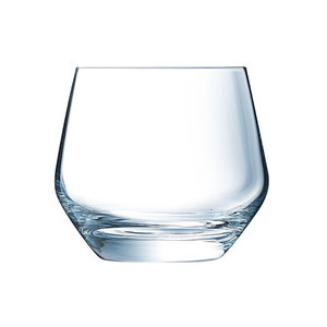 "ECLAT Cristal d' Arques Whisky glass 35 cl  "" Ultime """