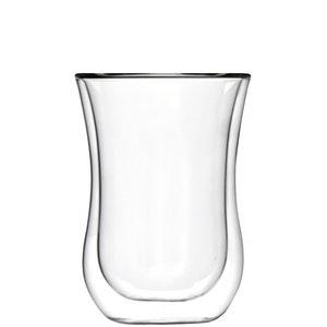 STÖLZLE  Double walled coffee/tea glass 23 cl  L size Coffee 'n More