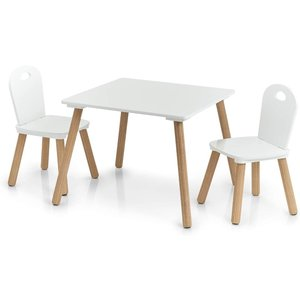 M & T  Table enfant et 2 chaises Design Scandinave