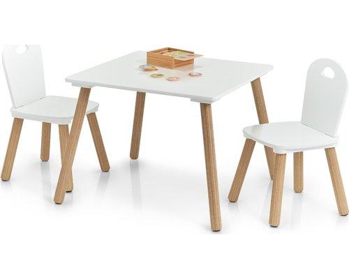 M & T  Table enfant et 2 chaises Design Scandinave
