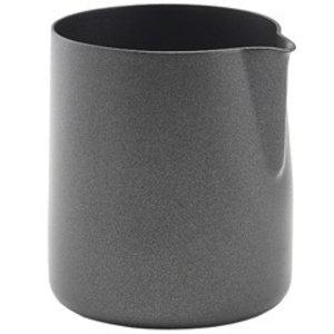 M & T  Roomkan rvs met non-stick coating zwart 150 ml