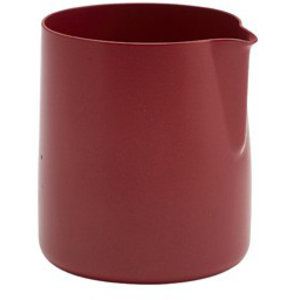 M & T  Creamer s/s with non stick coating  red150 ml