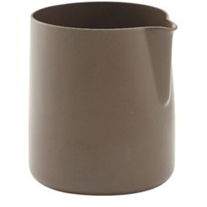 M & T  Creamer s/s with non stick coating brown 150 ml