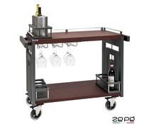 Zepé Bar & liquor trolley