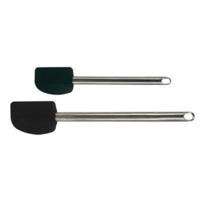 KISAG  Scraper with stainless steel handle  and rubber scraper set of  2 pieces