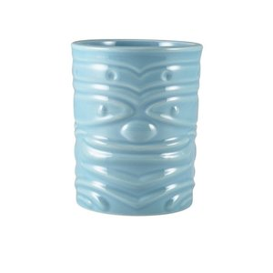 M & T  Tiki beaker 36 cl blue low shape