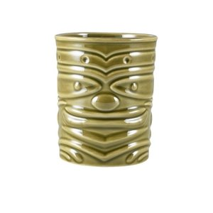 M & T  Tiki beaker 36 cl green low shape
