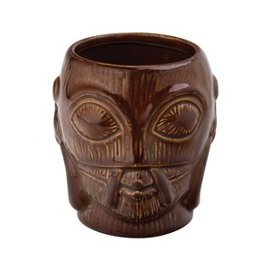 M & T  Tiki beaker 50 cl Bora Bora earthenware