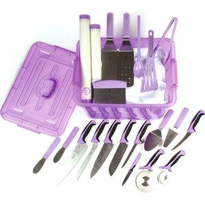 MERCER CULINARY  Kit anti allergènes violet ensemble de 23 pièces