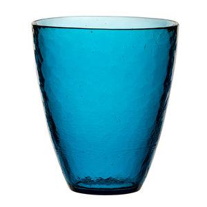M & T  Bekerglas Ambiance 33 cl blauw