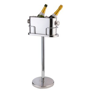 M & T  Double champagne - wine cooler with stand