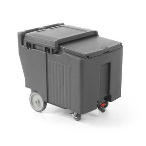 M & T  Geïsoleerde ijsblokjeswagen 110 liter