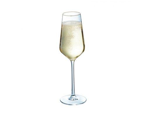 LUMINARC  Champagne flute 21 cl Ultime met gouden rand