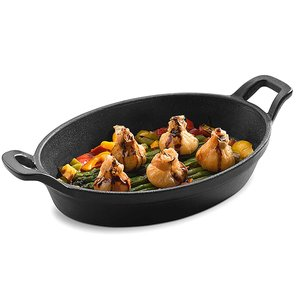 PUJADAS Small oval   casserole with two handles
