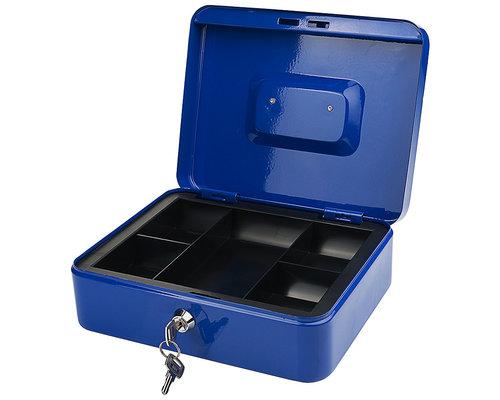 M & T  Cash box blue laquered