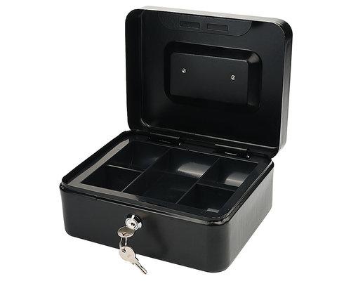 M & T  Cash box black laquered