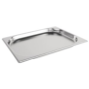 M & T  Gastronorm pan 1/2  stainless steel depth 20 mm