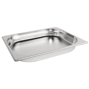 M & T  Gastronorm pan 1/2  stainless steel depth  65 mm