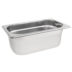M & T  Gastronorm pan 1/4  stainless steel depth 65 mm -
