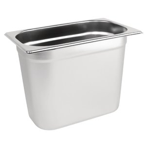 M & T  Gastronorm pan 1/4  stainless steel depth 200 mm
