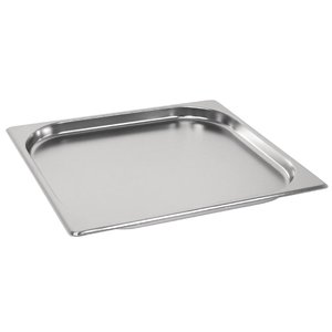M & T  Gastronorm pan 2/3  stainless steel depth 20 mm