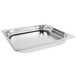 M & T  Gastronorm pan 2/3  stainless steel depth 40 mm