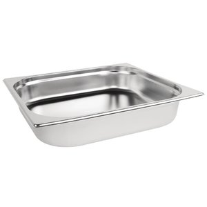 M & T  Gastronorm pan 2/3  stainless steel depth 65 mm