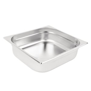 M & T  Gastronorm pan 2/3  stainless steel depth 100 mm