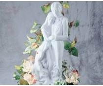 M&T Ice sculpture shape married couple