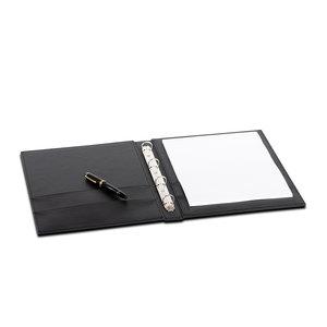 M & T  Guest directory - hotel folder zwart PU  luxe leder