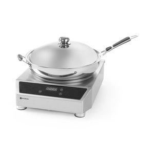 HENDI Inductiewok 3500 W met wokpan