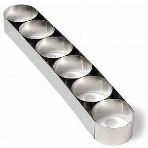 GOBEL  Koppeling van 6 mousse ringen 45 cm lengte