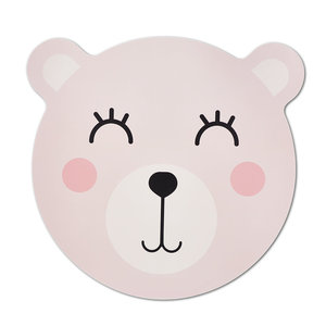 M & T  Placemat pink bear