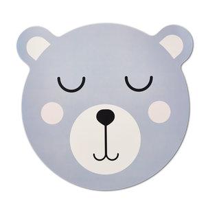 M & T  Placemat blue bear