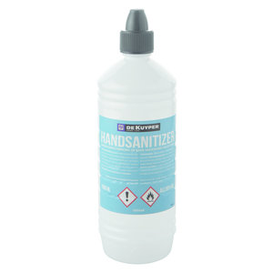 M&T Disinfection liquid 1 liter 80% alcohol